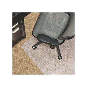 Exceptionnel Realspace(R) Berber Chair Mat For Low Pile Carpets, Studded, 46in