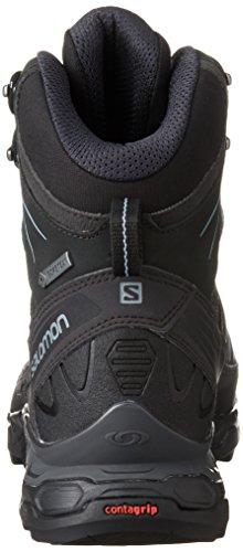 Black X amp; Wanderhalbschuhe Ultra Trek GTX Salomon Blue Schwarz Stone Damen Asphalt Trekking 5nqTwgvZ
