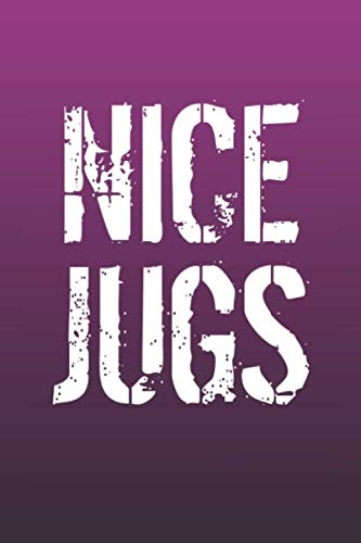 Nice Jugs: Funny Sayings on the cover Journal 104 Lined Pages for Writing and Drawing, Everyday Humorous, 365 days to more Humor & Happiness Year Long Journal / Daily Notebook ()