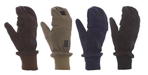 6-pack Magic Stretch Finger Less - Stretch Fleece Mittens