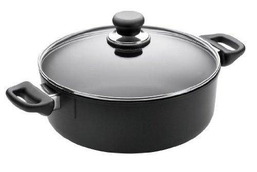 Scanpan Classic 3-3/4-Quart Covered Low Stew Pot