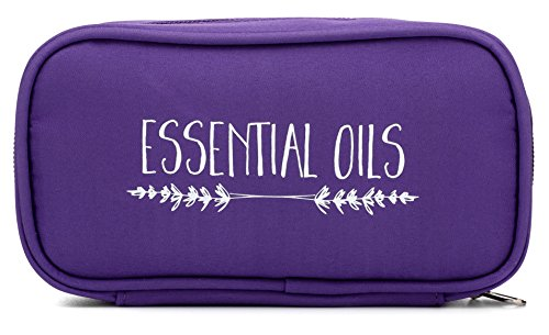Essential Oil Carrying Case - Purple