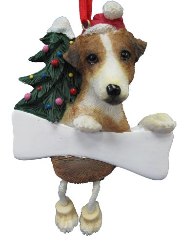 Jack Russell Ornament with Unique
