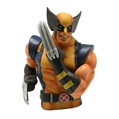 Monogram International Wolverine Piggy Bank: Toys & Games