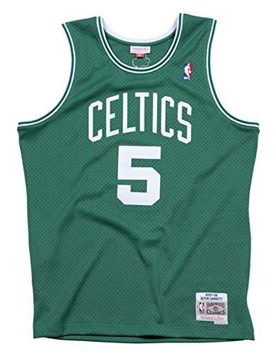 Mitchell & Ness Kevin Garnett Boston Celtics Men's Green Throwback Jersey