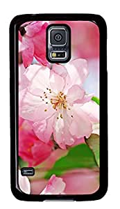 Samsung Galaxy S5 Cases & Covers - Begonia Flowers PC Custom Soft Case Cover Protector for Samsung Galaxy S5 - Black