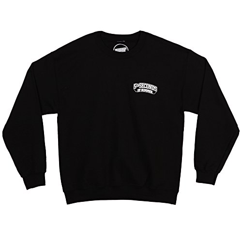 5-seconds-of-summer-skull-logo-crewneck-pullover-sweatshirt-black-large