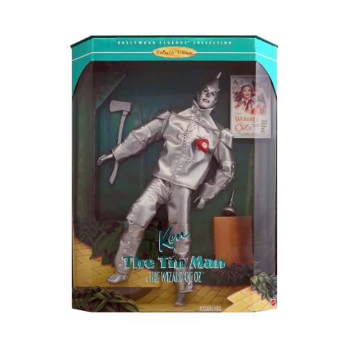 Ken Barbie as the Tin Man, Hollywood Legends, The Wizard of Oz Collectors Edition (Oz Heart Tin Wizard Man Of)