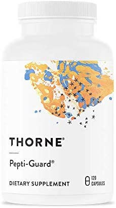 Thorne Research – Pepti-Guard – Support for a Healthy Stomach Lining with DGL and Aloe Vera Extract – 120 Capsules