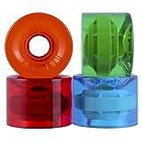 OJ Jolly Ranch Juice Trans Red/Blue/Green/Orange 78a Skateboard Wheels (60 mm)