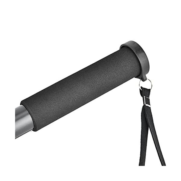 RetinaPix Black Foldable Portable 4-Section Tube Camera Support Rod, Monopod, for SLR Camera Mobile Phone(P264)