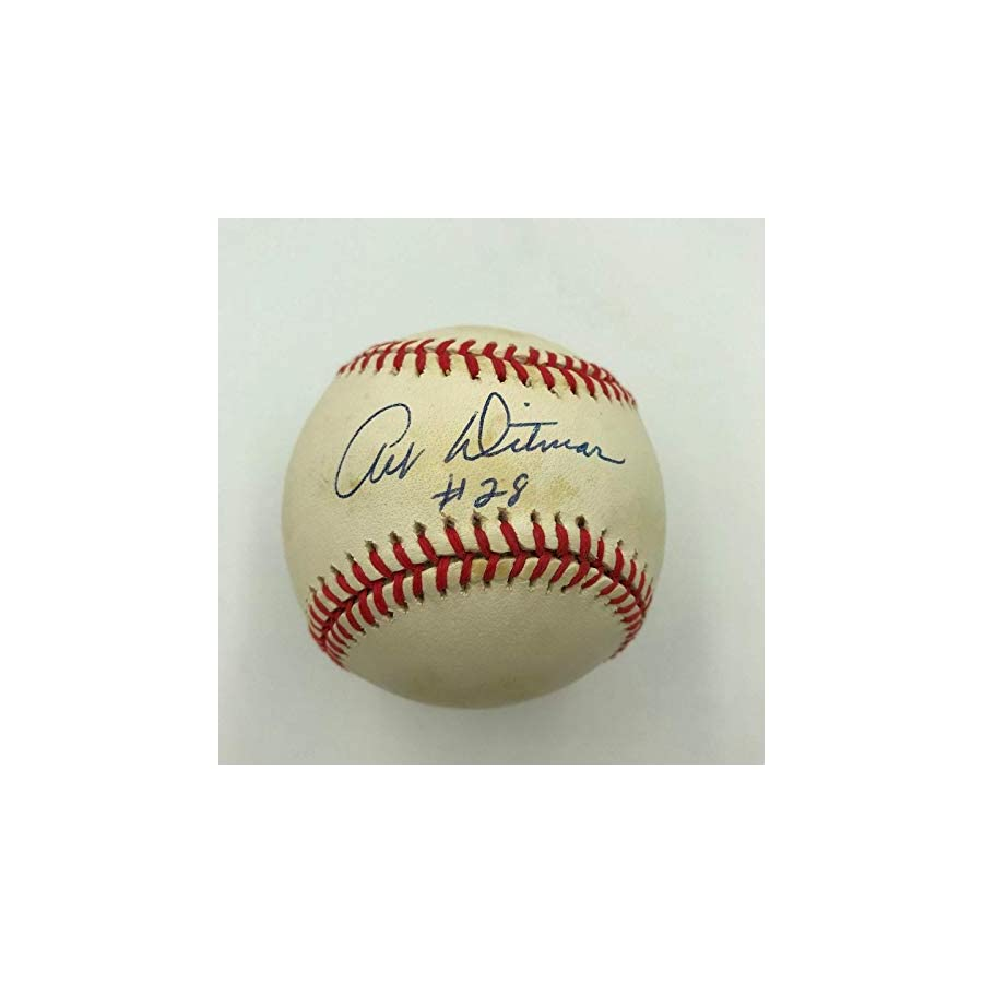 Art Ditmar Signed Official American League Baseball New York Yankees 1961 Autographed MLB Art