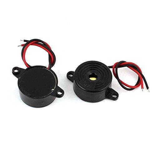 Amazon.com: eDealMax 2 Pcs DC24V miniatura Continuo sonido ...
