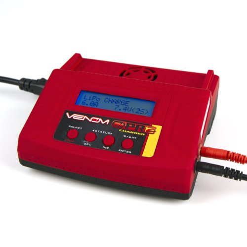 Venom Pro 2 AC/DC LiPo and NiMH Battery Charger 6 Amp for RC