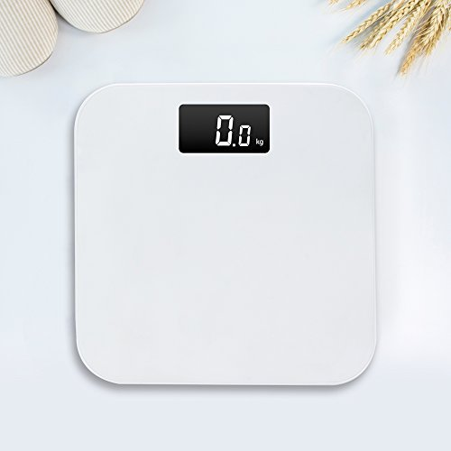 LUOYIMAN High Precision Digital Body Weight Scale Easy to Clean (White) by LUOYIMAN
