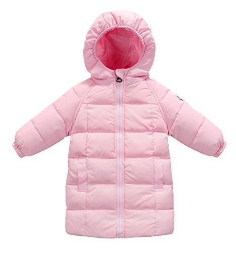 7bb082663 Happy Cherry Baby Girls Long Down Coats Lightweight Outwear Winter ...