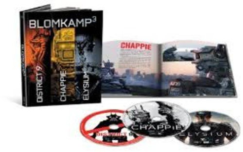 Chappie / District 9 / Elysium - Set [Blu-ray] from Sony Pictures Home Entertainment