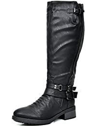 Women's Knee High And Up Riding Boots (Wide Calf Available)