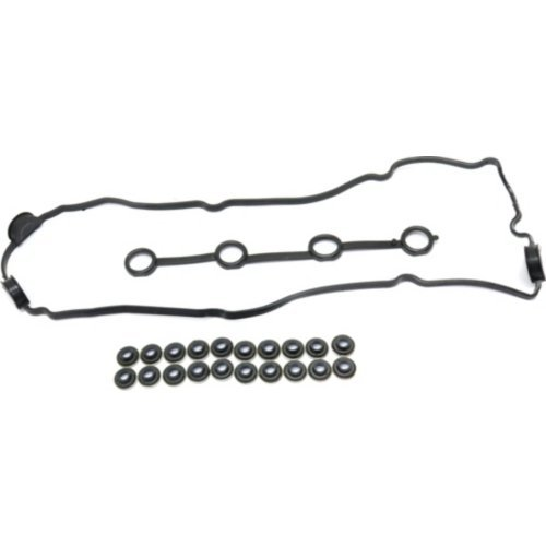 Eng Seal - Evan-Fischer EVA3256241723 Valve Cover Gasket for Altima 93-01 Set 4 Cyl 2.4L Eng. With Seals and Grommets