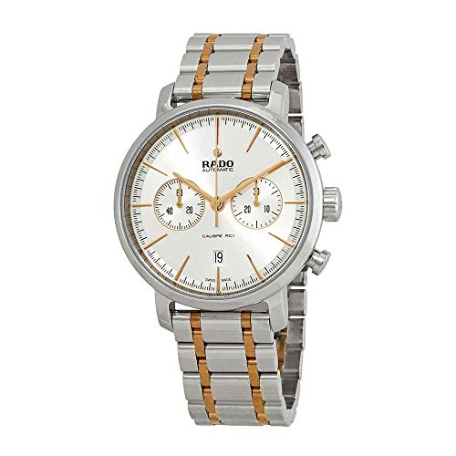 Rado DiaMaster Chronograph Automatic Silver Dial Two-Tone Men's Watch R14070103 ()