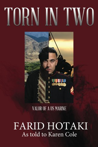 Book: Torn in Two Valor of a U.S. Marine by Farid Hotaki