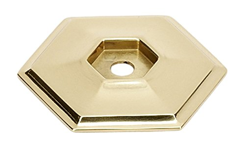 Alno A426-PB Nicole Backplates Modern, Polished Brass, - Backplate Pb