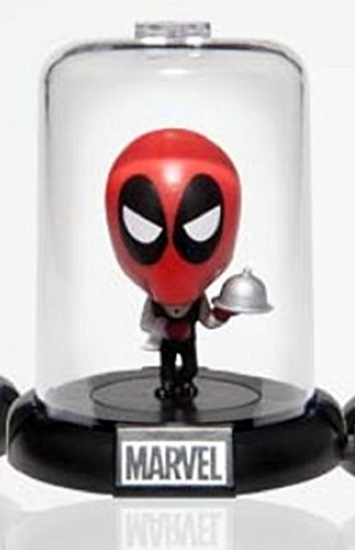 Marvel Deadpool Collectible Original Mini's Domez ~ Waiter (Opened to Identify) (Dead Waiter Costume)