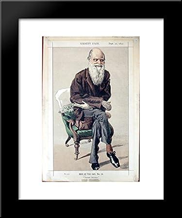 Amazon.com: Caricature of Charles Darwin from Vanity Fair magazine ...
