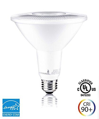 Hyperikon PAR38 LED Bulb, 14W (100W equivalent), 1220lm, 3000K (Soft White Glow), CRI 90+, Flood Light, Medium Base (E26), Dimmable, Energy Star