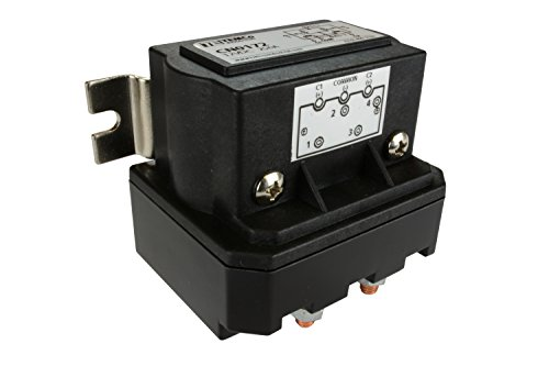 Temco 250 Amps DC Winch Motor Reversing Solenoid Relay Switch 12 Volt Contactor 5 Year Warranty