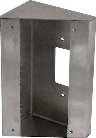 or JO-DV Door Stations JF-DV Aiphone Corporation SBX-DV30 30 Degree Angle Box for JK-DV 18 AWG Stainless Steel