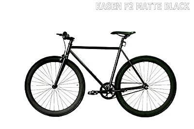 carci Fixed Gear Bike Bicycle F2 Steel Black bicycle men women fixie city bike