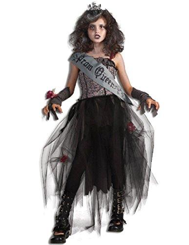 Zombie Prom Dress (Rubie's Deluxe Goth Prom Queen Costume - Medium)