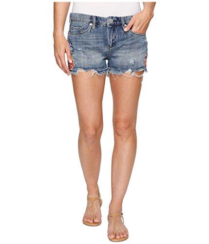ぺディカブ約設定スクリュー[ブランクニューヨークシティー] Blank NYC レディース Denim Embroidered Cut Off Shorts in Wild Child パンツ Wild Child 27 [並行輸入品]