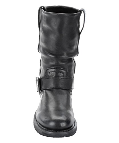 Slip Biker Boots Boot Davidson Leather Ladies Black Darice Harley On Original Ux1nS8Y8