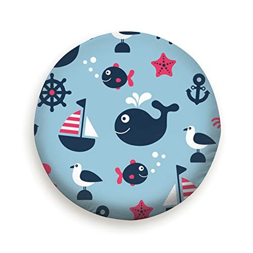- YANAIX Childish Nautical Spare Tire Cover, Waterproof Dust-Proof Thicken Wheel Protectors Covers Fit 14-17 Inch 15inch
