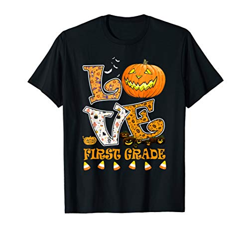 Halloween For First Grade (Halloween Love First Grade Teacher Gift For Men Women)