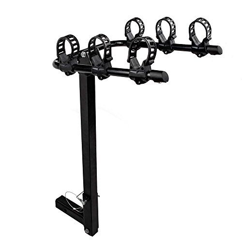 3-Bike Bicycle Trunk Rack Hitch Mount Cargo Carriers Rack fit for 2″ Class III IV Trailer SUV Truck Hitch Receiver For Sale