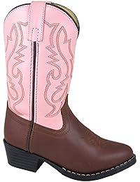 Kids Child Denver Leather Western Boot