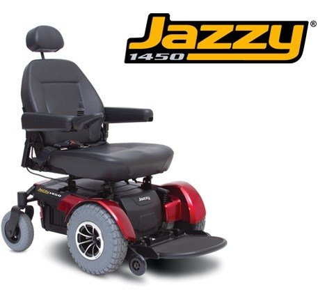 - Pride Mobility JAZZY1450 Jazzy 1450 Electric Wheelchair