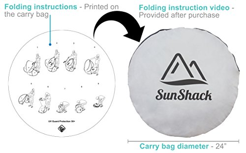 SunShack Pop Up Beach Shade