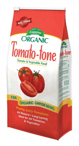 - Tomato-tone Organic Fertilizer - FOR ALL YOUR TOMATOES, 4 lb. bag