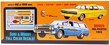 """AMT 1965 Chevy Chevelle /""""Super Wagon/"""" 1:25 Scale Decals"""