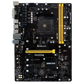- Biostar Motherboard TB350-BTC AMD A-series AM4 B350 up to 32GB DDR4 DVI-D PCI Express SATA ATX Retail