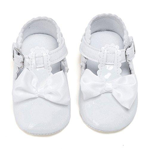 Belsen - Zapatos primeros pasos de Material Sintético para niña Weiß