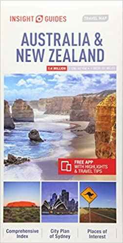 Insight Guides Travel Map Australia & New Zealand (Insight ...