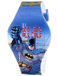 Batman Kids 'bat4095visualización Digital analógico de cuarzo reloj azul