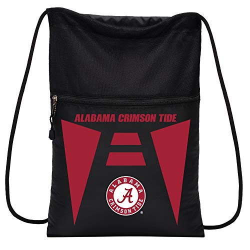 Officially Licensed NCAA Alabama Crimson Tide Team Tech Backpack Backsack, One Size