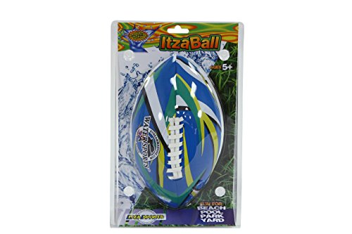 41Tg34%2BcOAL - Water Sports ITZABALL 9-Inch Pool Football (colors may vary)