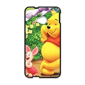 Winnie-The-Pooh HTC One M7 Cell Phone Case Black Phone cover F7625808